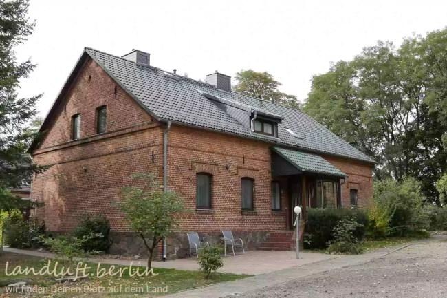 Forsthaus in wunderschöner Naturlage in der Nähe von Berlin zu verkaufen, altes Forsthaus