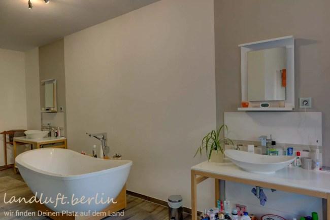 Badezimmer in der Scheune