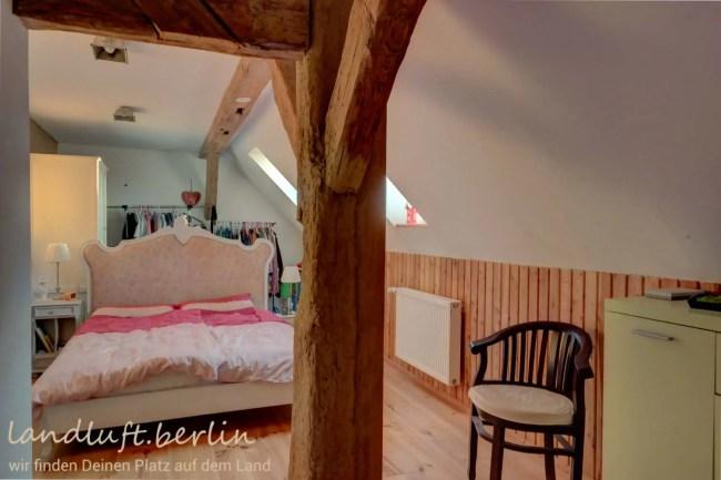 Schlafzimmer in der Wohnung der Eigentümer