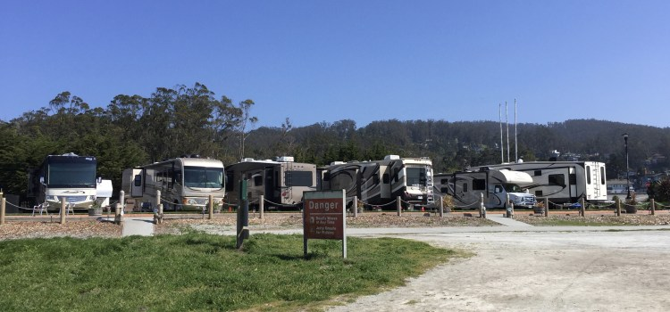 A Scenic RV Park on the Beach in Half Moon Bay, California