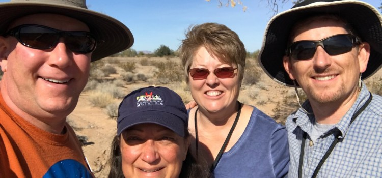 Finding Treasures in the Desert – Our First Geocaching Outing
