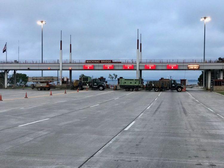 North toll plaza