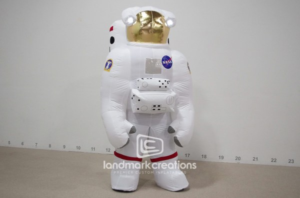 Inflatable Astronaut Space Suit Costume Peaks Curiosity at ...
