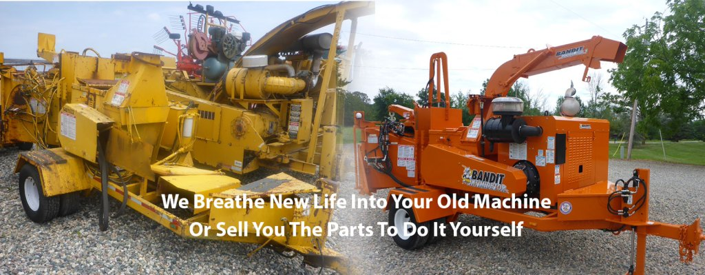 Landmark Machinery LLC - Your source for anything wood chippers!