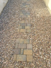 Paver Stepping Stones