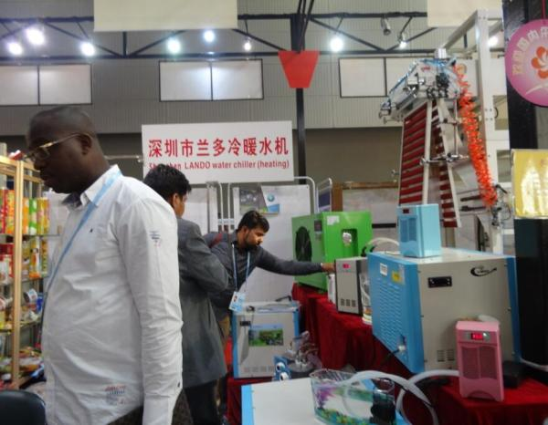 Lando Attend The 117th Canton Fair in Guangzhou