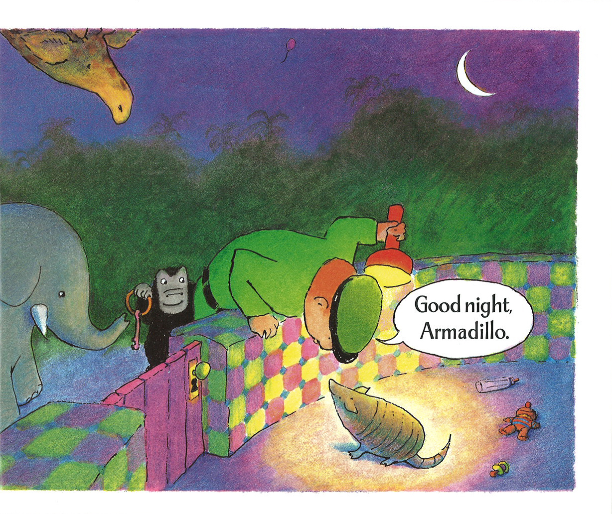 Good Night Gorilla By Peggy Rathman Land Of Lost Books