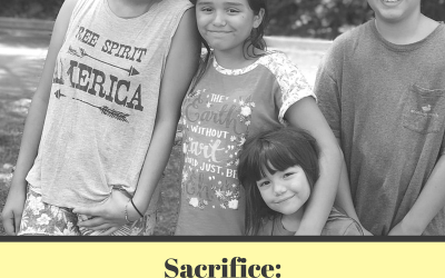 Sacrifice: 5 tips for volunteering with kids