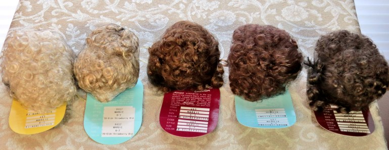 Margie Synthetic Mohair Wig Size 6-7
