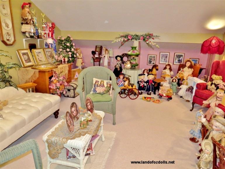 Land of Oz Dolls Doll Display Room