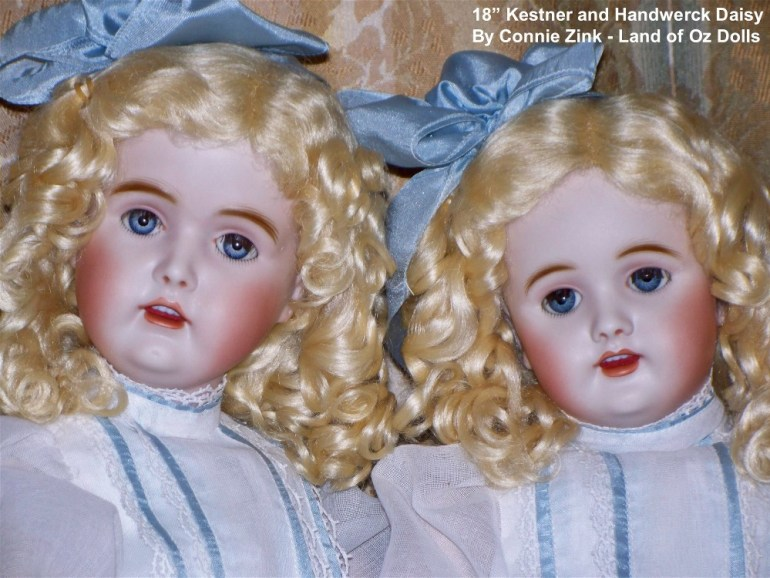 "Kestner and Handwerck ""Daisy"" Reproductons"