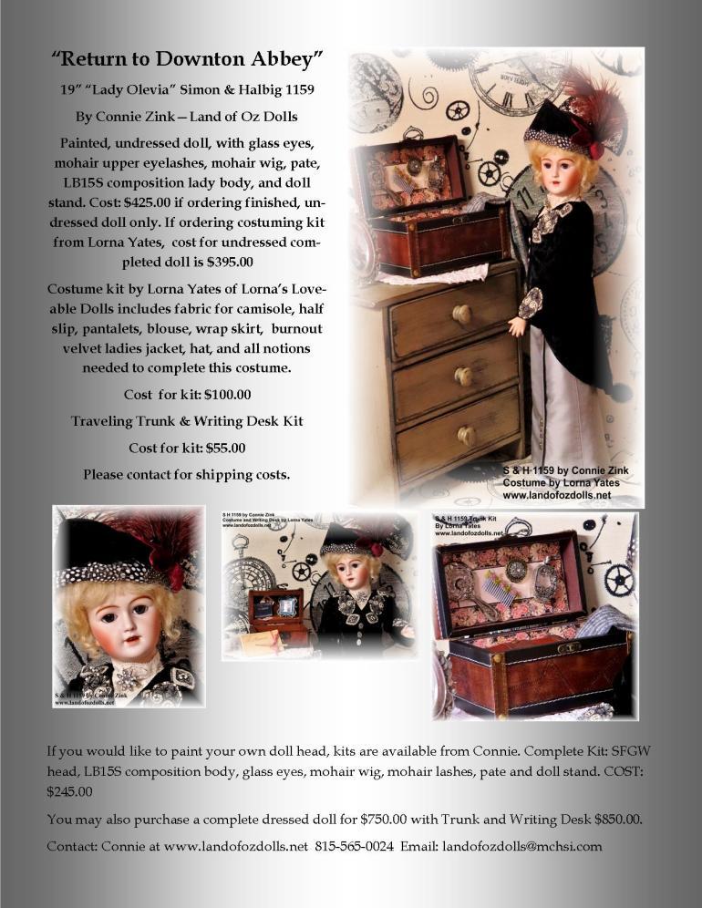 Lady Olevia  2014 -  Kit Brochure jpg for web