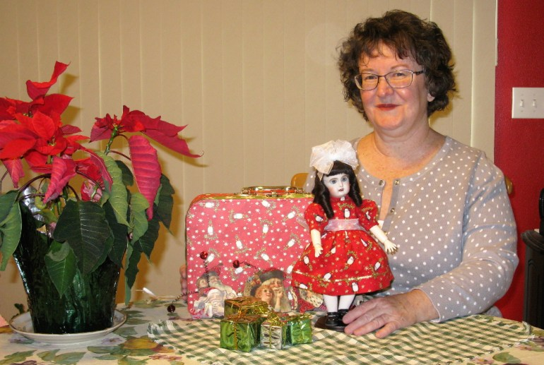 Winner of the 2016 Holiday Bleuette Doll Giveaway Ellen Bond