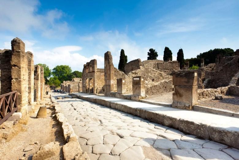 Ruins of Pompei