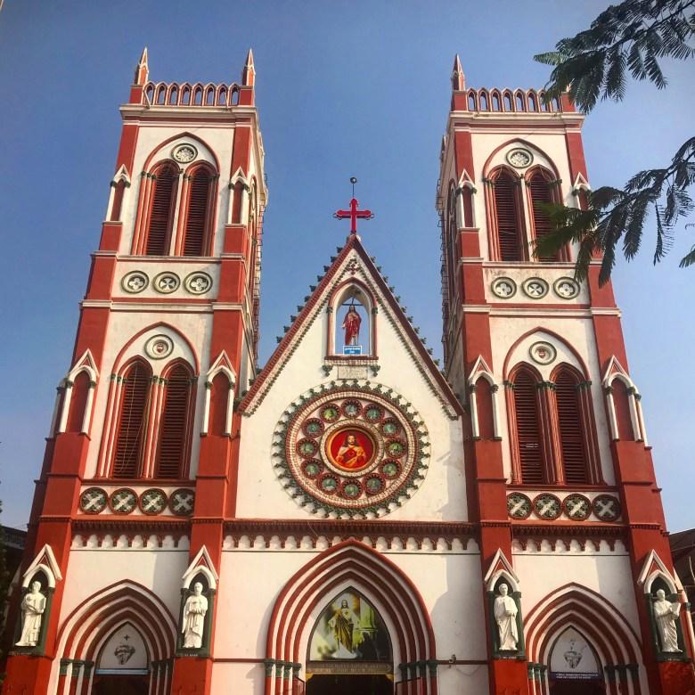 Sacred Heart Basilica, Pondicherry, South India