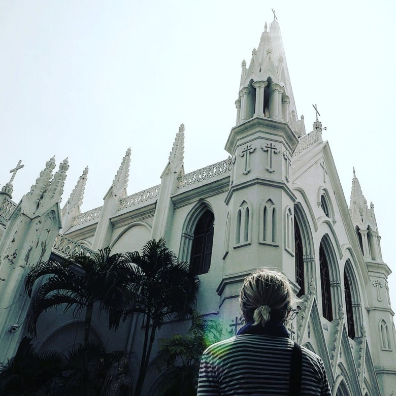 San Thome Cathedral, Chennai, Tamil Nadu, India
