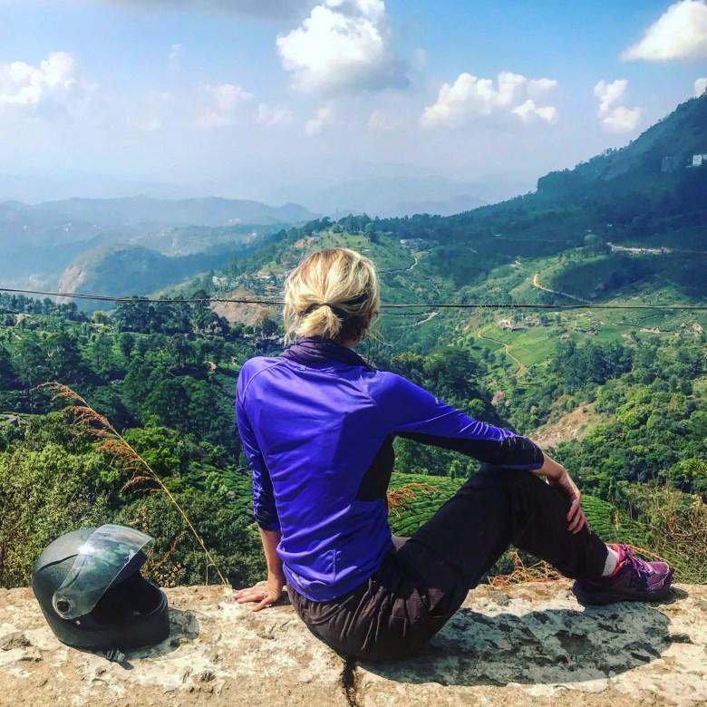 Viewpoint in Munnar, South India