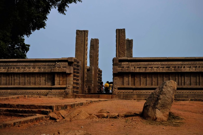 Raya Gopuram, Mahabalipuram, South India