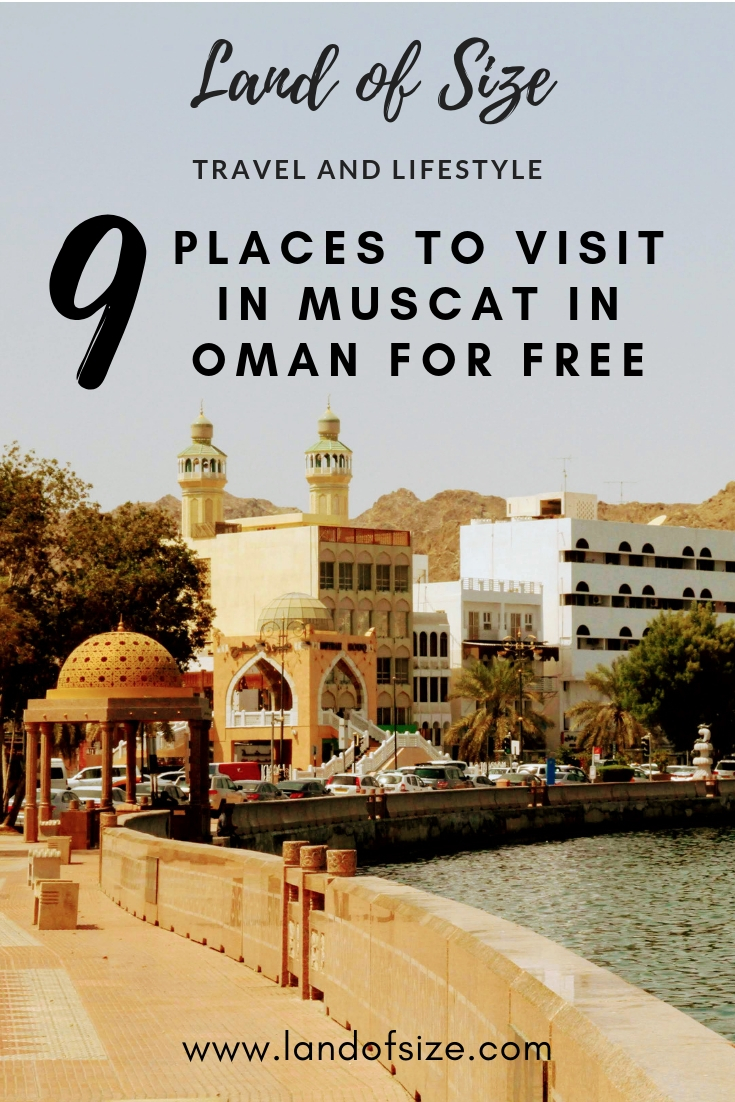 9 free things to do in Muscat in Oman if you're on a backpacker budget
