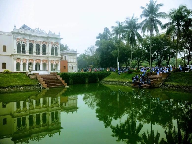 Sadarbari building, Sonargaon Museum complex, Dhaka, Bangladesh