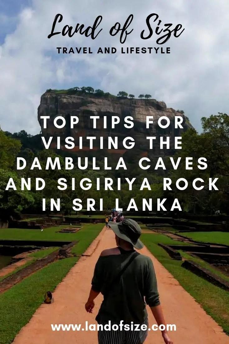 Top tips to see Dambulla Caves and Sigiriya Rock in Sri Lanka on a budget