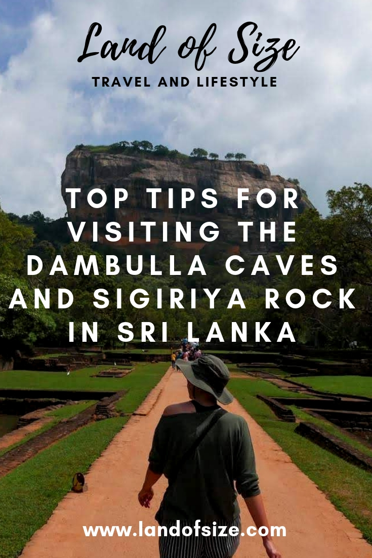 Top tips to see Dambulla Caves and Sigiriya Rock in Sri Lanka on a budget