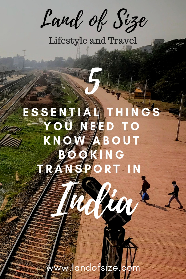 5 essential things you need to know about booking transport in India