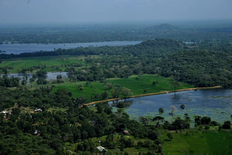 View from Aradhana Gala, Mihintale, Sri Lanka