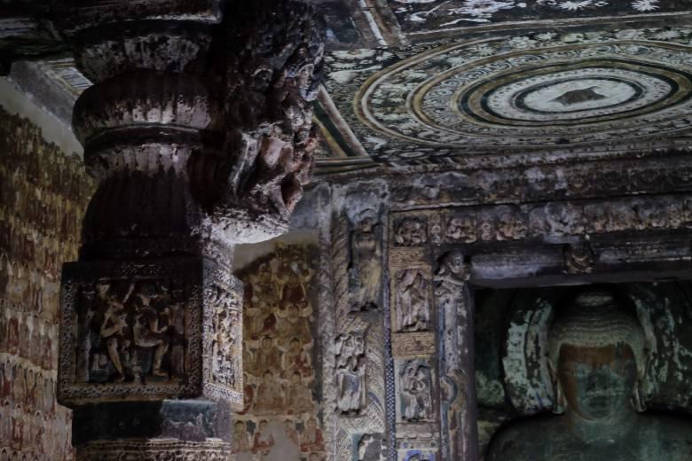 Cave 1, Ajanta Caves, Maharastra, South India