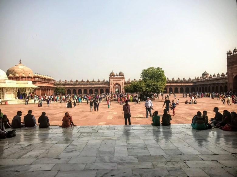 Inside the Jama Masjid, Fatehpur Sikri, North India