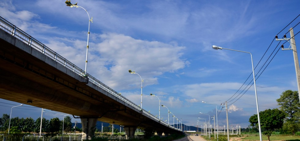 The second Thai-Myanmar Friendship Bridge.