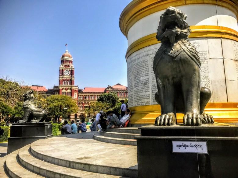 Maha Bandula Park, Yangon, Myanmar