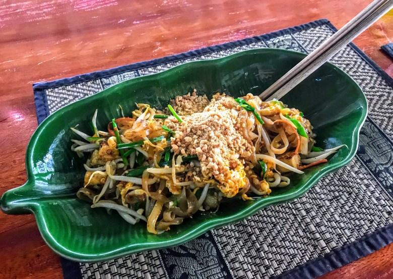 Pad Thai, Napalai Thai Cuisine School, Koh Chang