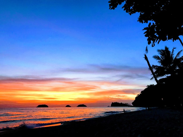 Sunset at Lonely Beach, Koh Chang, Thailand
