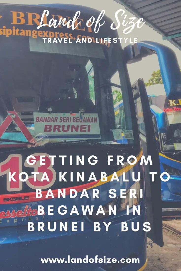 Getting from Kota Kinabalu to Bandar Seri Begawan in Brunei by bus