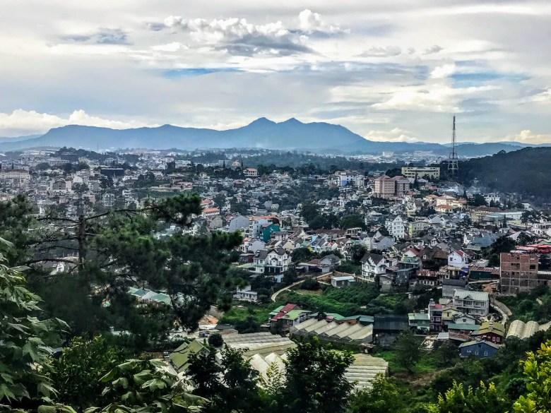 View from Robin Hill, Da Lat, Vietnam