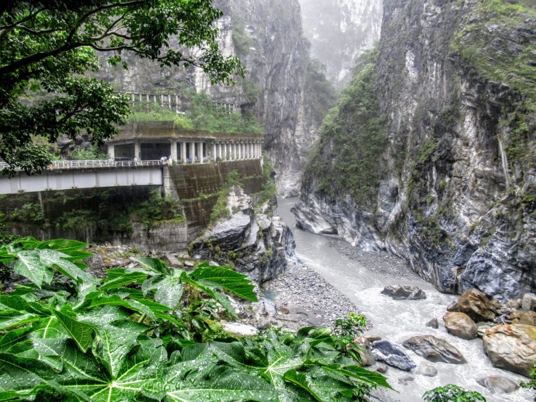 Jiuqudong (Tunnel of Nine Turns), Taroko Gorge, Taiwan