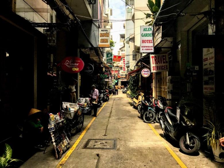 Ho Chi Minh streets, Vietnam