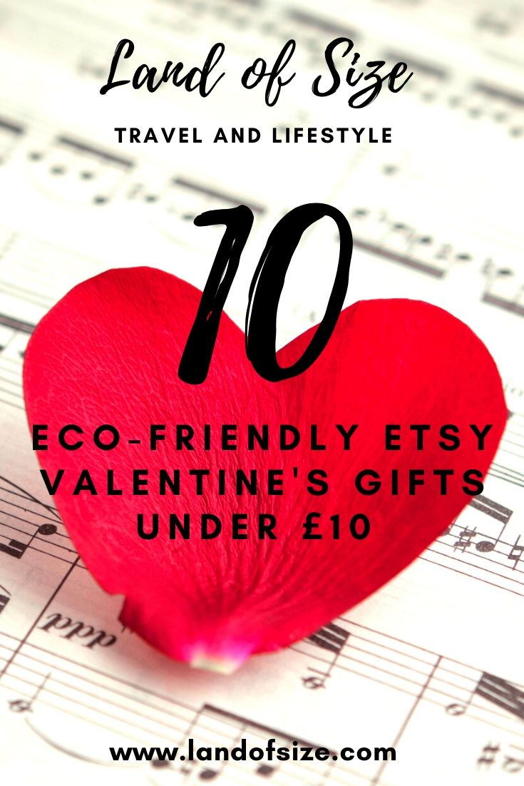 10 eco-friendly Etsy Valentine's gifts under £10