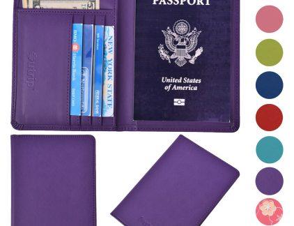 A picture displaying the Outrip passport case and holder