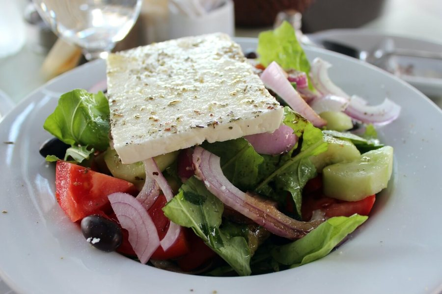A picture of the famous Greek Salad