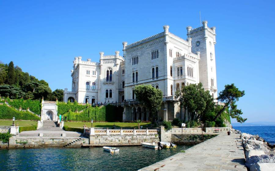 Miramare Castle in Italy