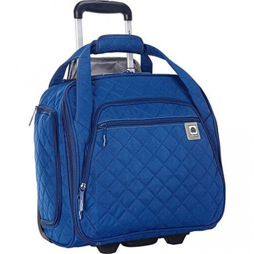 5. Delsey - Quilted Rolling UnderSeater