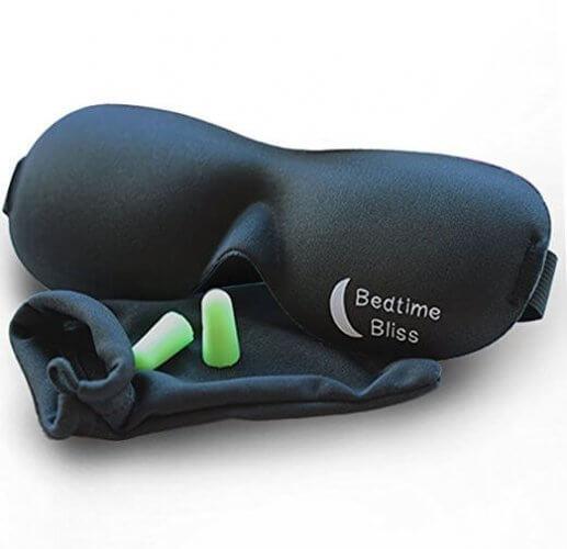 2. Bedtime Bliss Sleep Mask