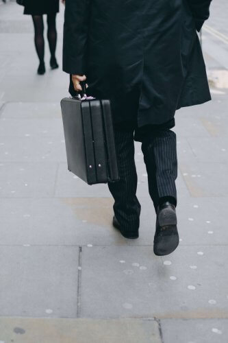Briefcase for business travel