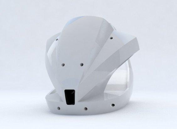 Desarrollo de modelo en fibra de vidrio para simulador de manejo