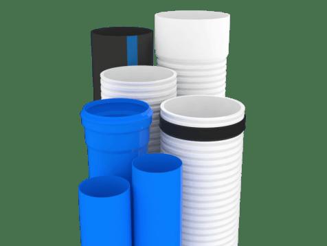 Desarrollo de Productos simulación de tubería de distintos tipos y calibres