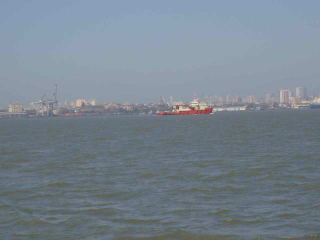 Mumbai - seen from the sea