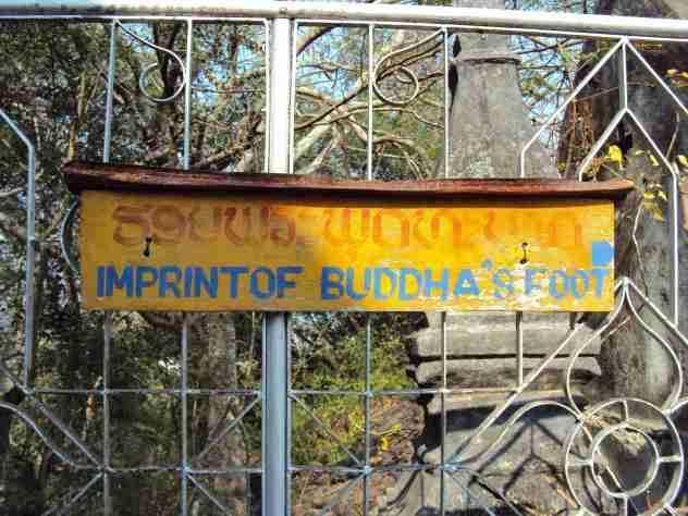 Buddhas Füsse