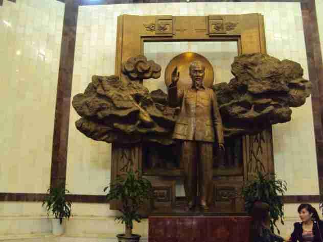 Büste von Ho Chi Minh